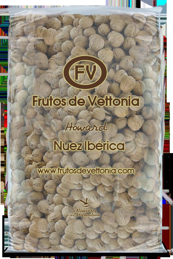 Frutos de vettonia bolsa nueces cascara 10 kg howard