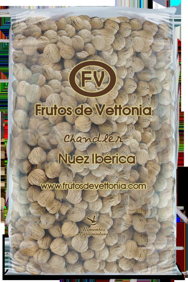 Frutos de vettonia bolsa nueces cascara 10 kg chandler
